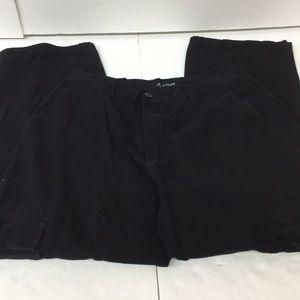 EUC Cargo Black Pants Size 36/32 Men's